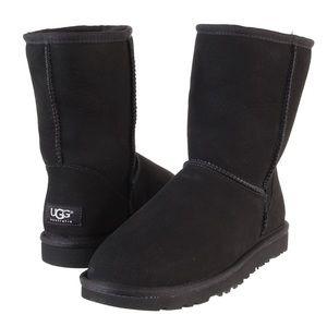 Black UGG Classic Short